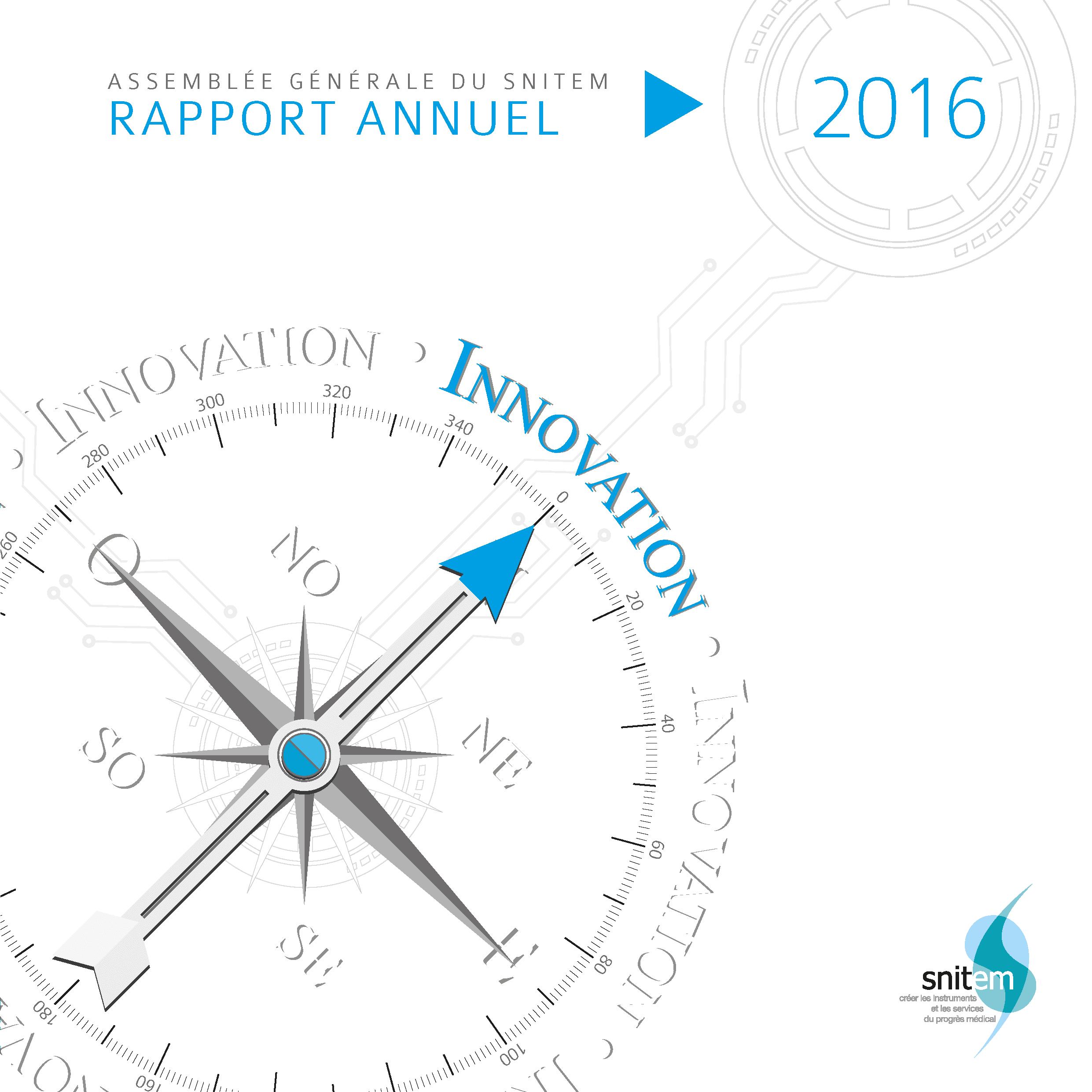 Rapport annuel du Snitem - 2016