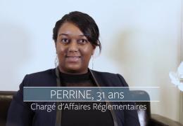 Perrine, chargée d'affaires réglementaires