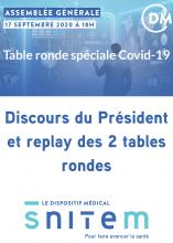 AG du Snitem - Replay des tables rondes !