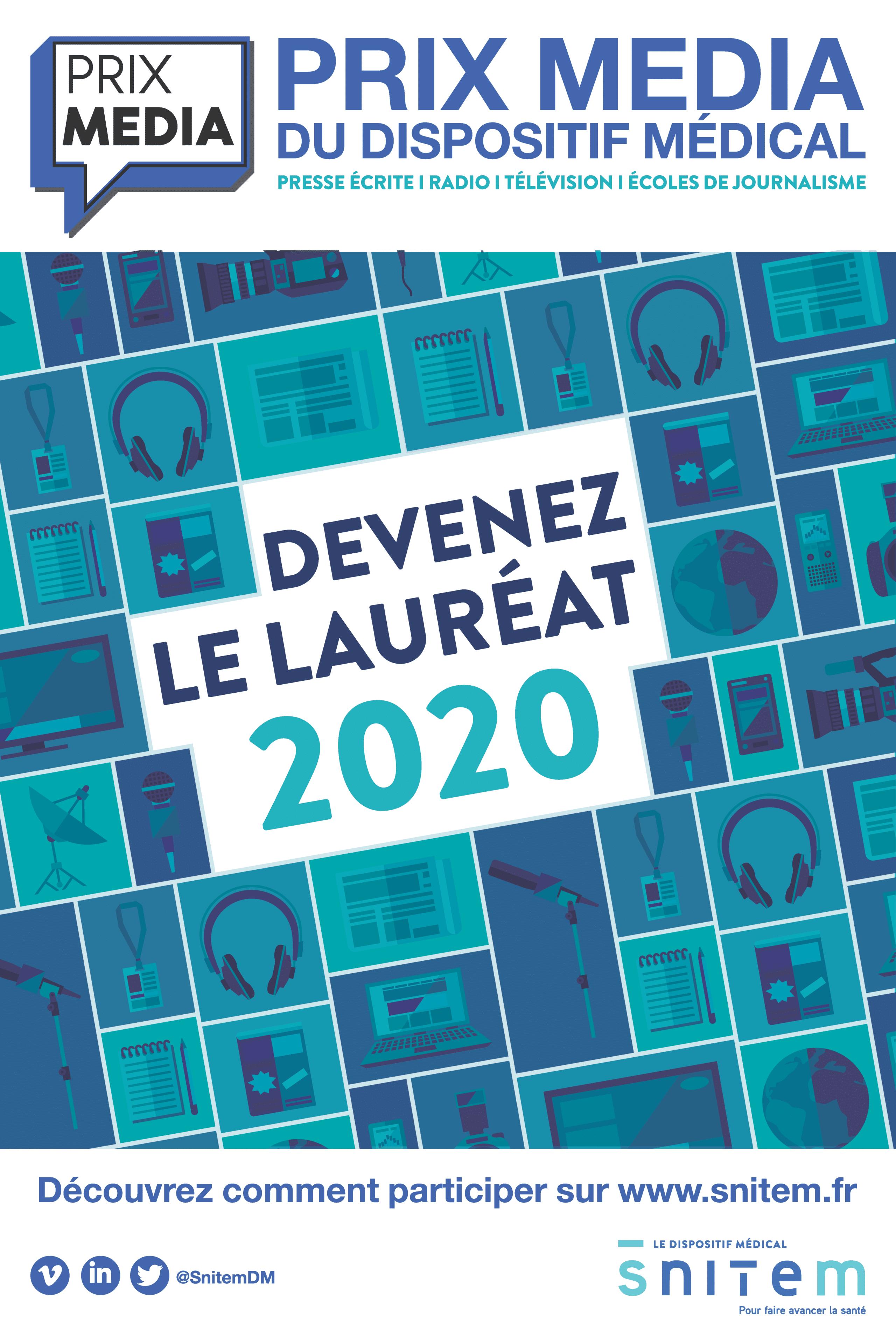 Le Prix média du dispositif médical 2021 : les lauréat.es de l'édition 2020/2021
