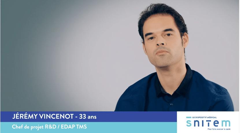 Jérémy, chef de projet R&D