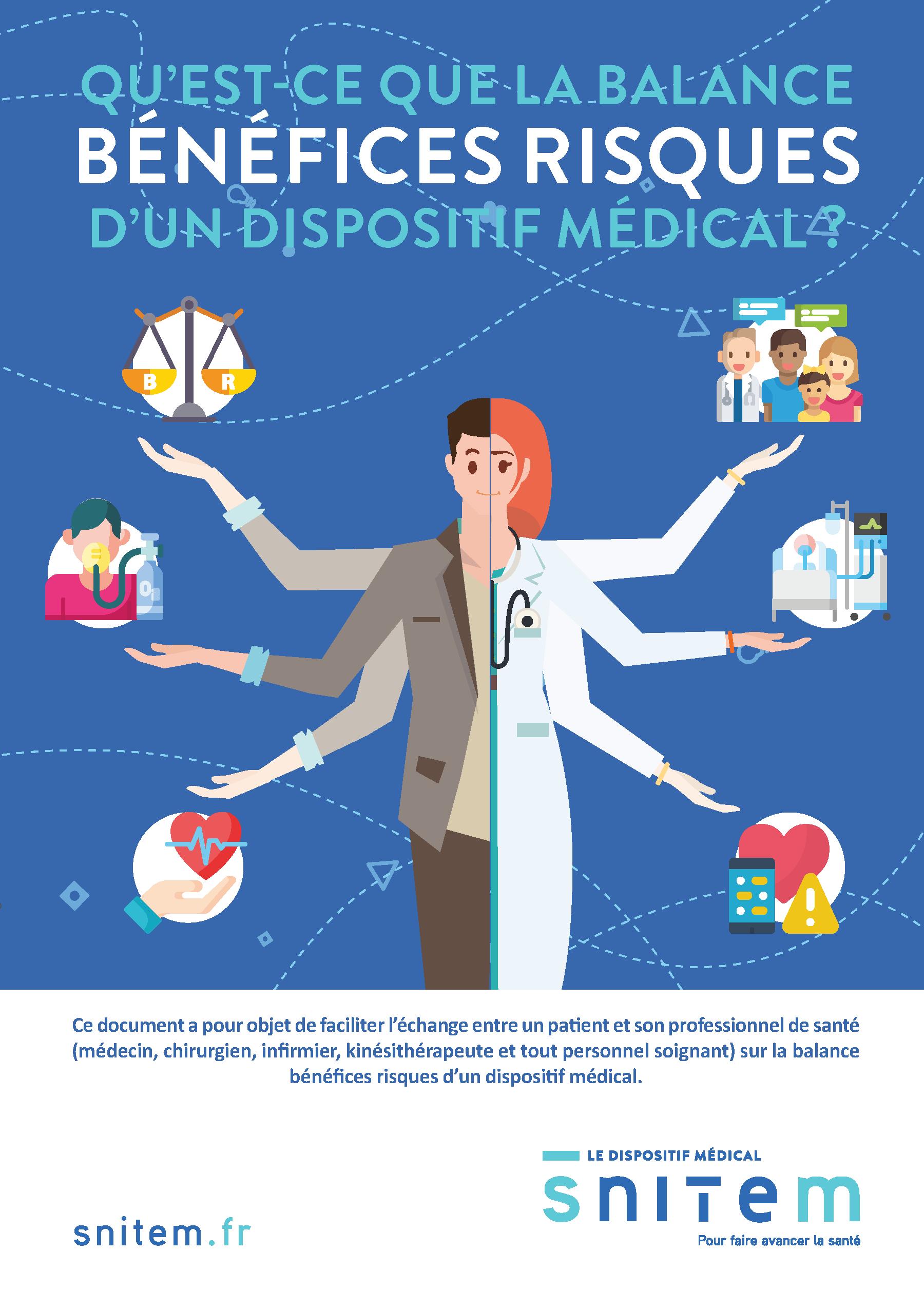 Balance bénéfices/risques d'un dispositif médical : parlons-en