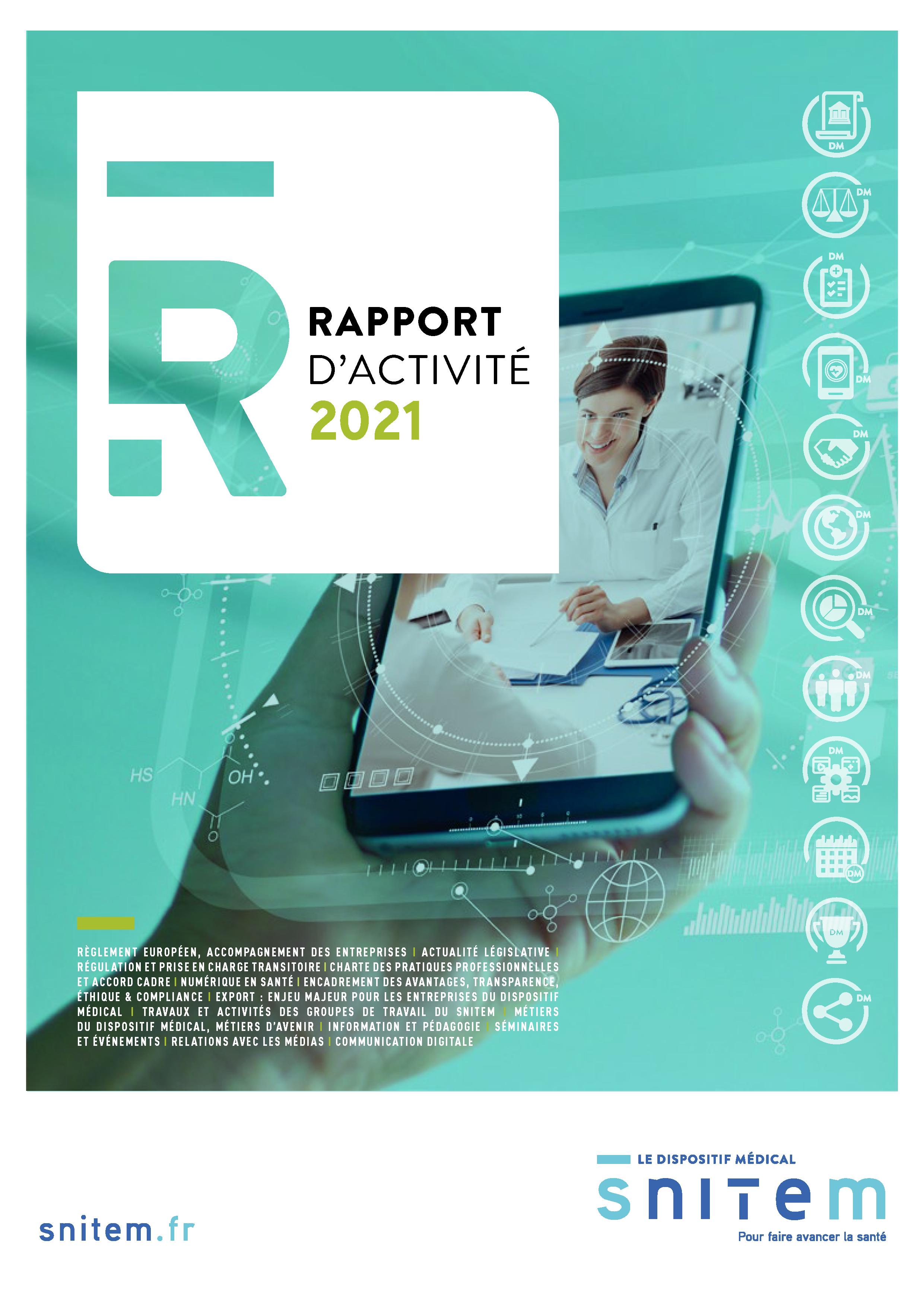 Rapport annuel du Snitem – 2021
