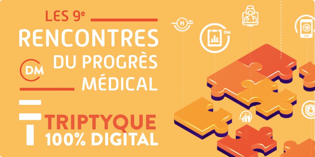 Rencontres du progrès médical : les prochaines dates à retenir - 16 septembre et 4 octobre/Le replay et la synthèse de la Session 1